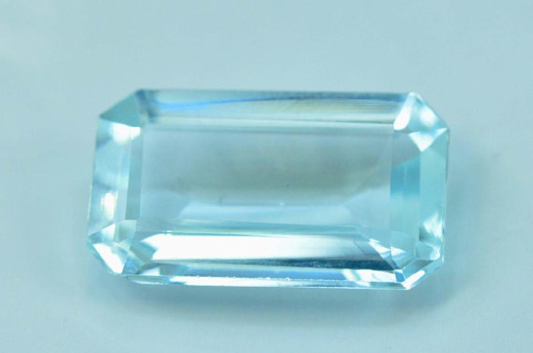 5.05 cts Untreated Aquamarine Gemstone ~ 15 x 9 x 4mm
