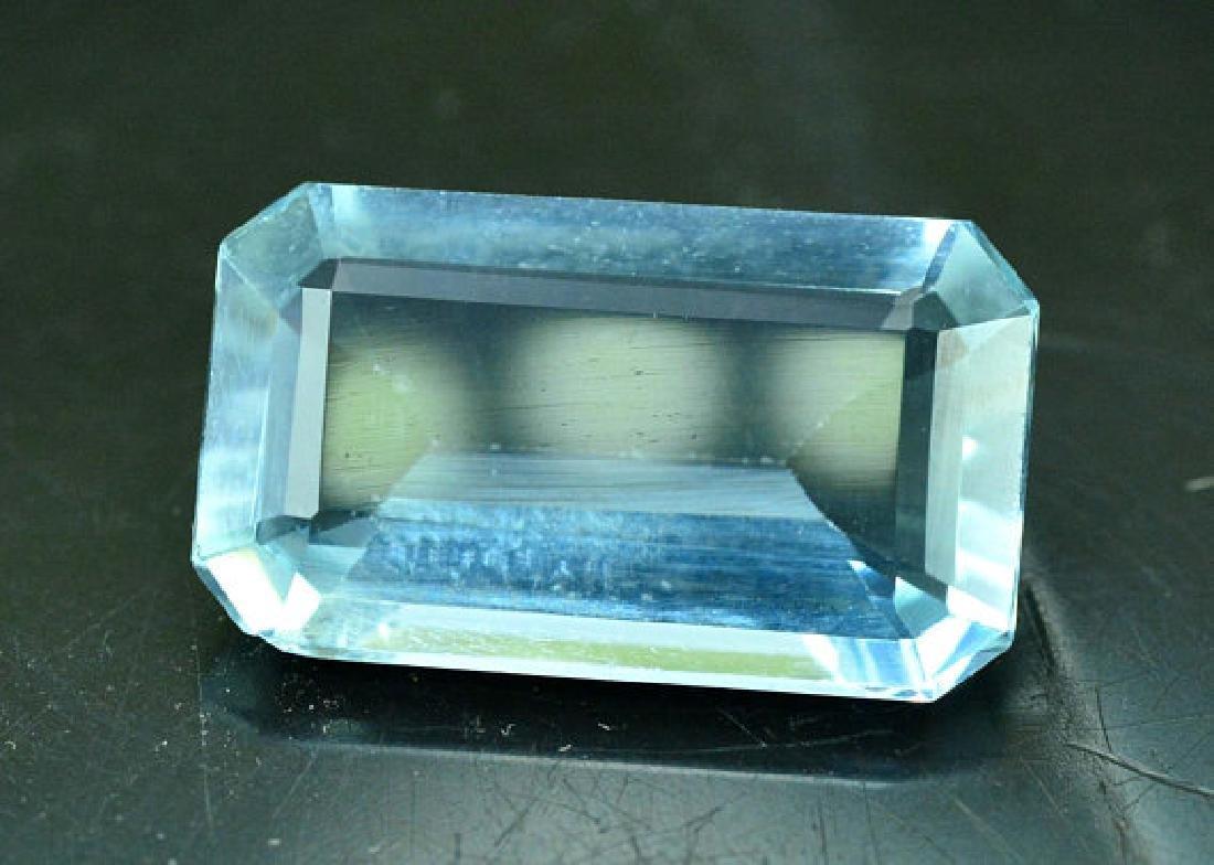 5.05 cts Untreated Aquamarine Gemstone ~ 15 x 9 x 4mm - 5