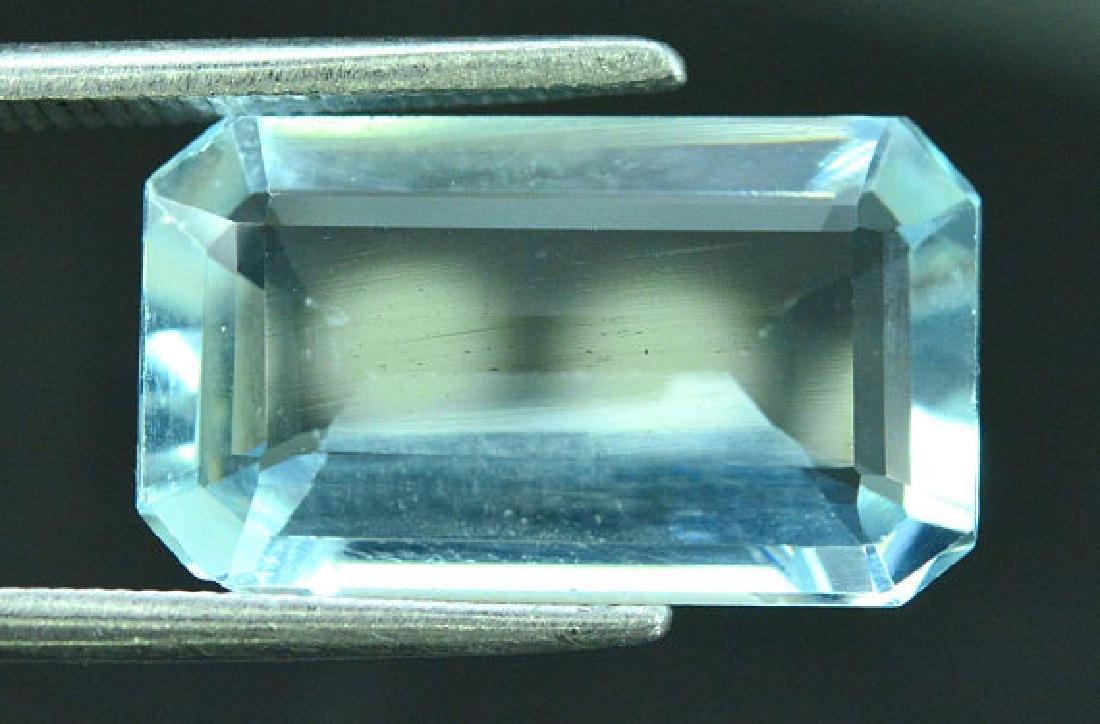5.05 cts Untreated Aquamarine Gemstone ~ 15 x 9 x 4mm - 6