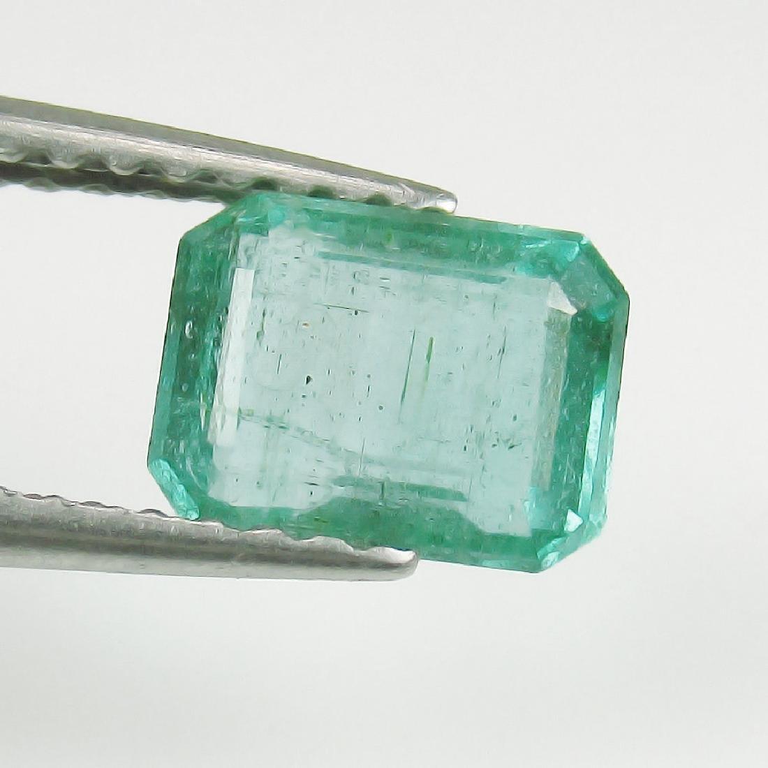 1.00 Ct Genuine Loose Zambian Emerald Octagon
