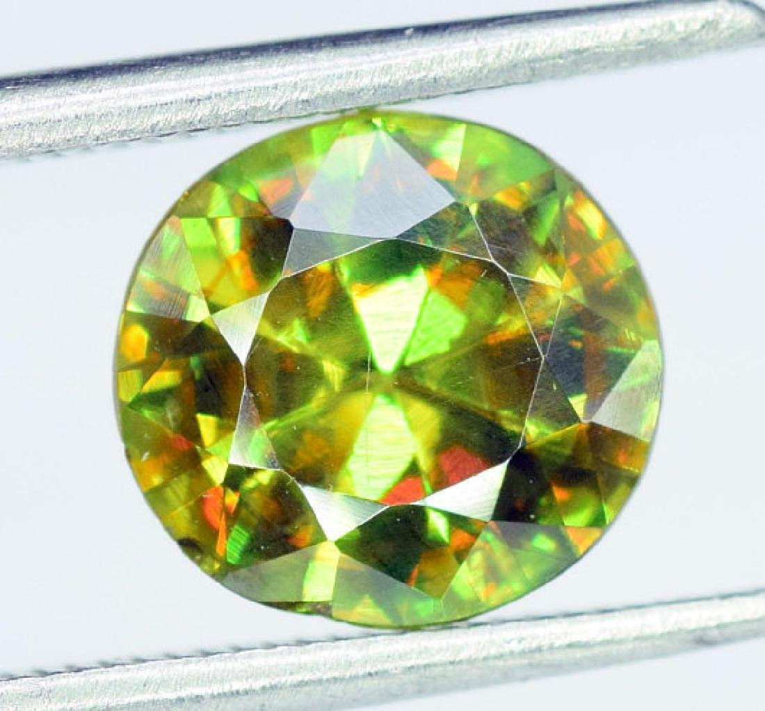1.95 carats AAA Color Full Fire Natural Chrome Sphene