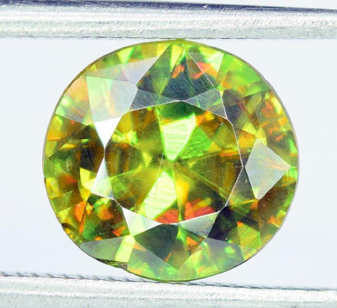 1.95 carats AAA Color Full Fire Natural Chrome Sphene - 3