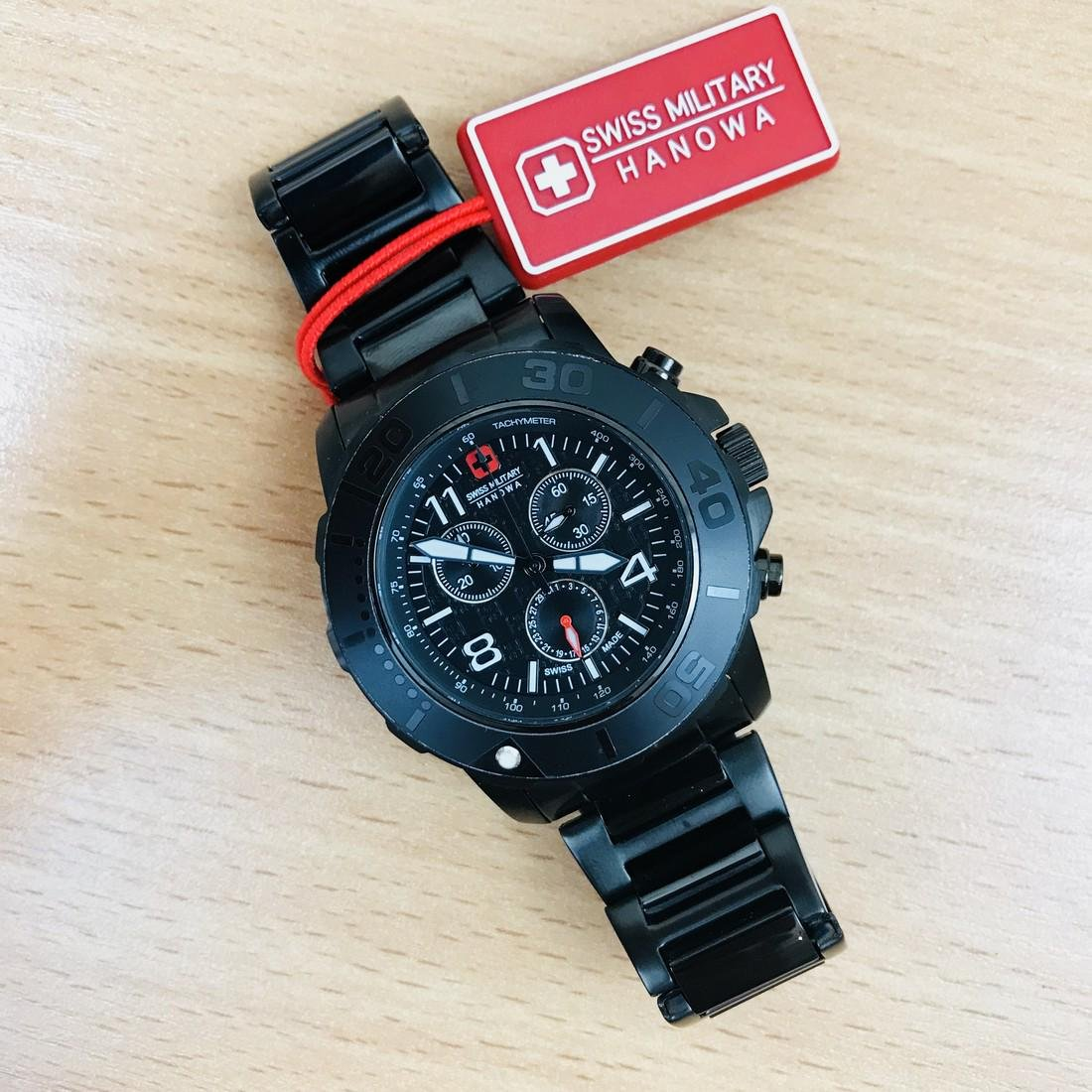 Swiss Military Hanowa – Swiss Made Chronograph Watch - 7