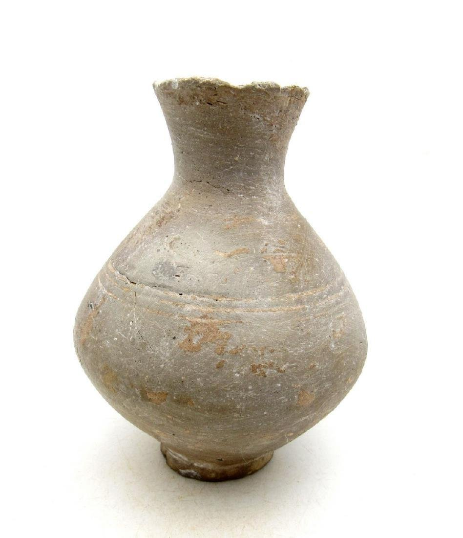 Ancient European Bronze Age Terracotta Jar - 2