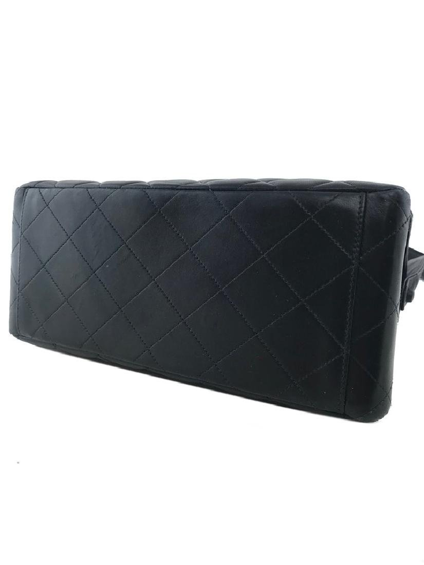 Chanel Vintage Quilted Leather Side Flaps Shoulder Bag - 5