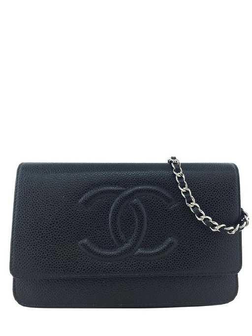 33e5f44d351264 Chanel Caviar Wallet on Chain WOC Timeless Crossbody