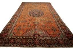 Antique Persian Serapi Rug 8x10