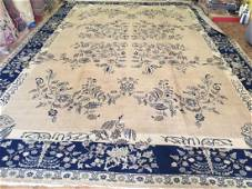 Antique Large size Turkish Rug with inscription 12x17.7