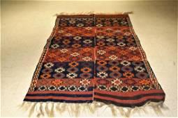 Vintahge Turkish kilim Rug 6.11x4.11