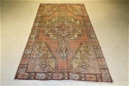 Vintage Turkish Rug 7.8x4.6