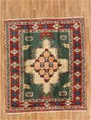 Vintage Turkish Kazak Rug 4.3x7.10