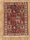 Semi-Antique Persian Bachtiar Rug 6.8x6.11