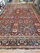 Antique Large size Persian Mahal Rug 11.5x17.5