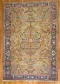 Antique Persian Heriz Serapi Golden Rug 7.10x10.10
