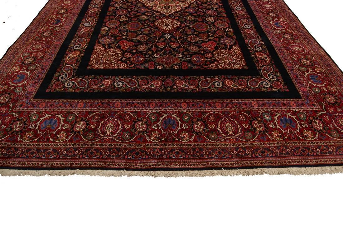 Rare Antique Dabir Kashan Persian Fine Kork Rug 10x14 - 2