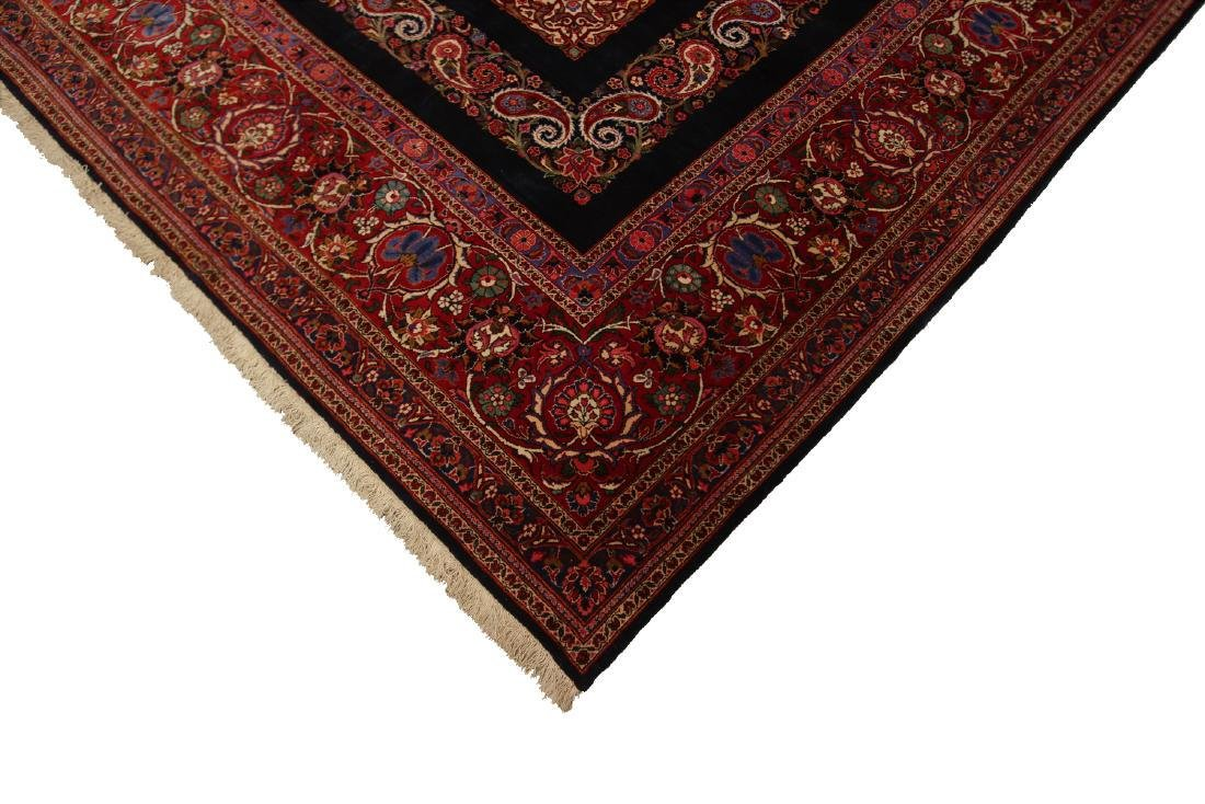 Rare Antique Dabir Kashan Persian Fine Kork Rug 10x14 - 6