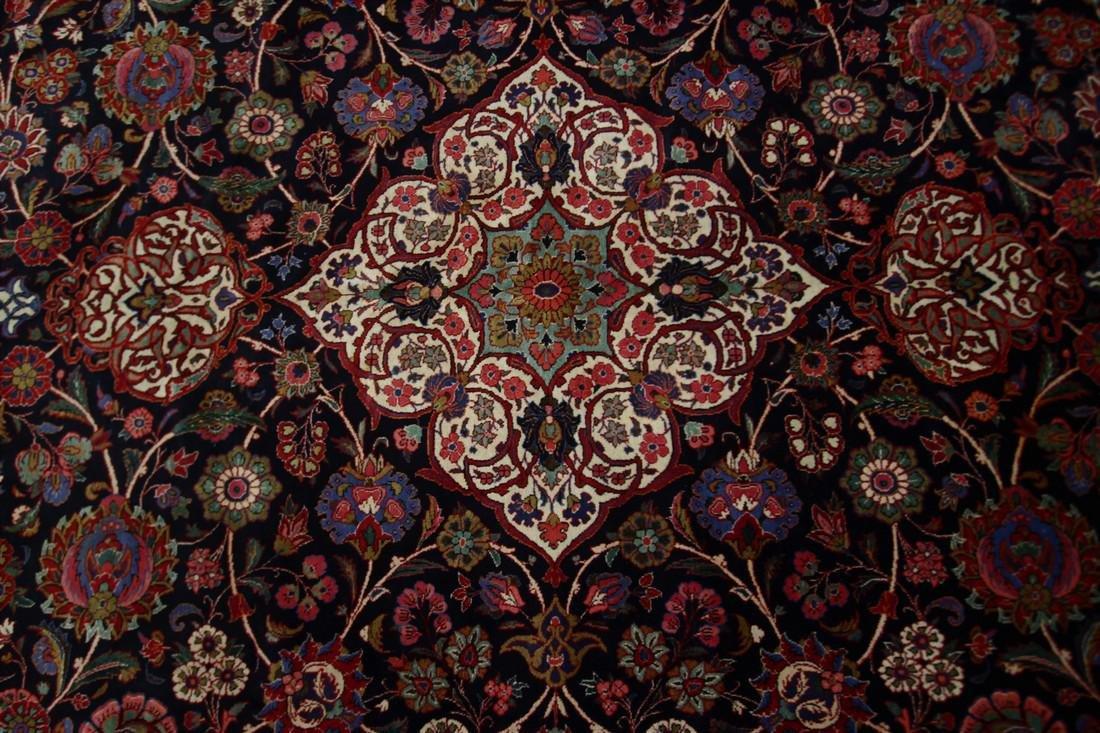 Rare Antique Dabir Kashan Persian Fine Kork Rug 10x14 - 7