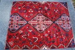 Tribal Persian Carpet 4.7x3.8