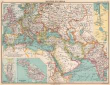 ROUTES TO INDIA Europe Middle East & Asia. Suez Canal