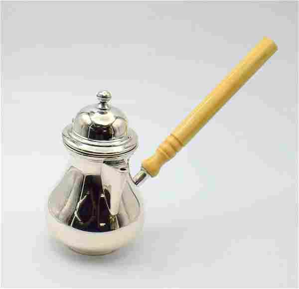GermanSilver Hallmarked 800 Coffee Pot