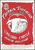 Second Print FD13 Captain Beefheart Poster