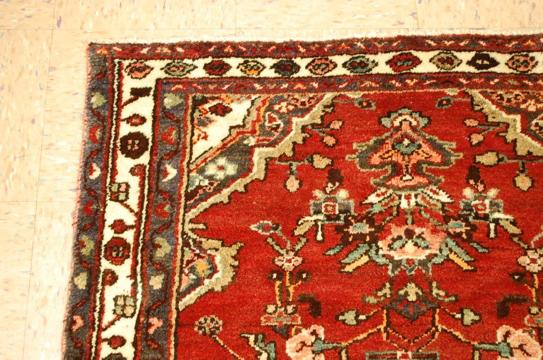 Antique Detailed Design Persian Malayer Rug 3.4x10.4 - 4