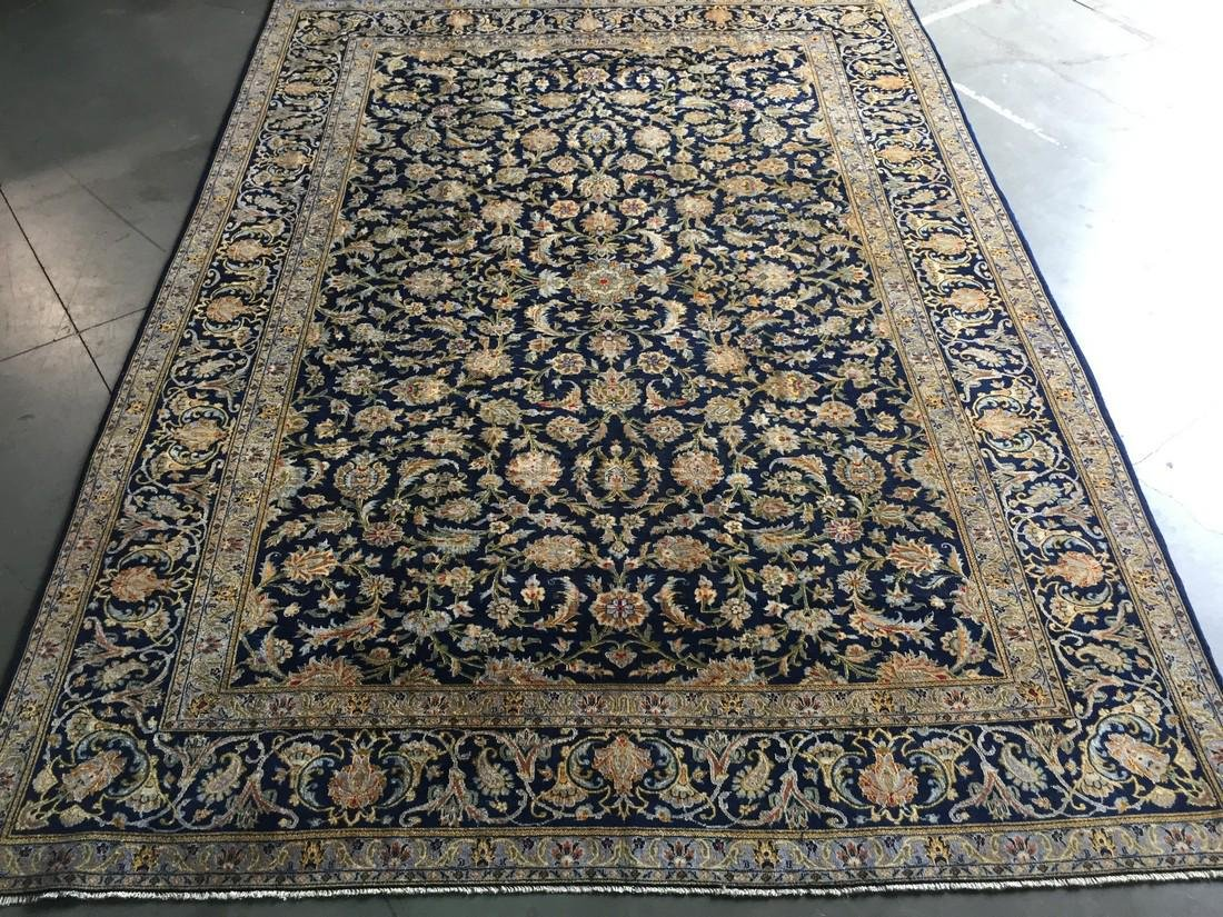 Magnificent Antique Persian Kashan Rug 9.7x13.4