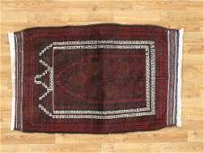 Semi-Antique Afghan Baluch Rug 2.9x4