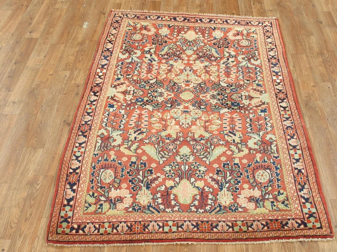 Antique Persian Sarouk Rug 3.5x5.5