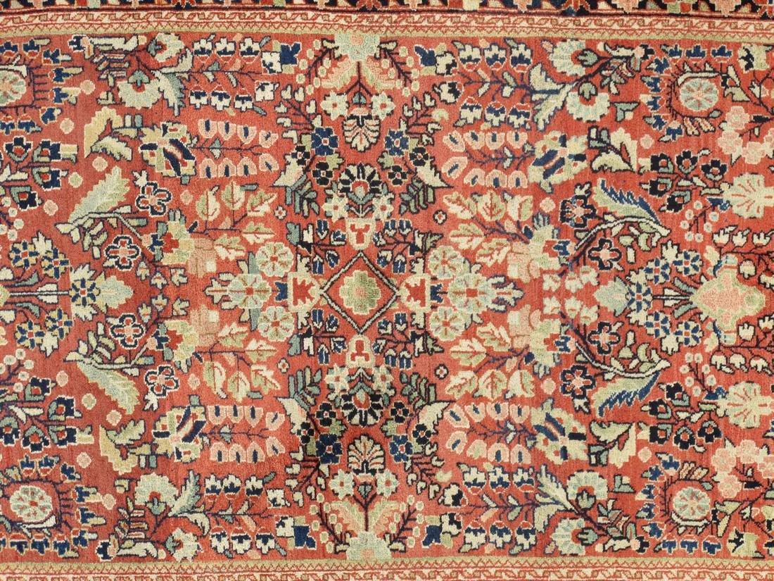 Antique Persian Sarouk Rug 3.5x5.5 - 4