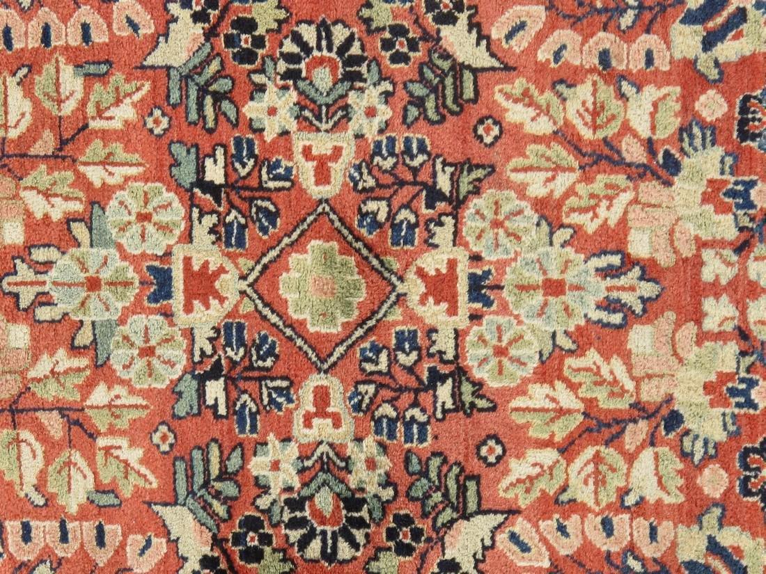 Antique Persian Sarouk Rug 3.5x5.5 - 5