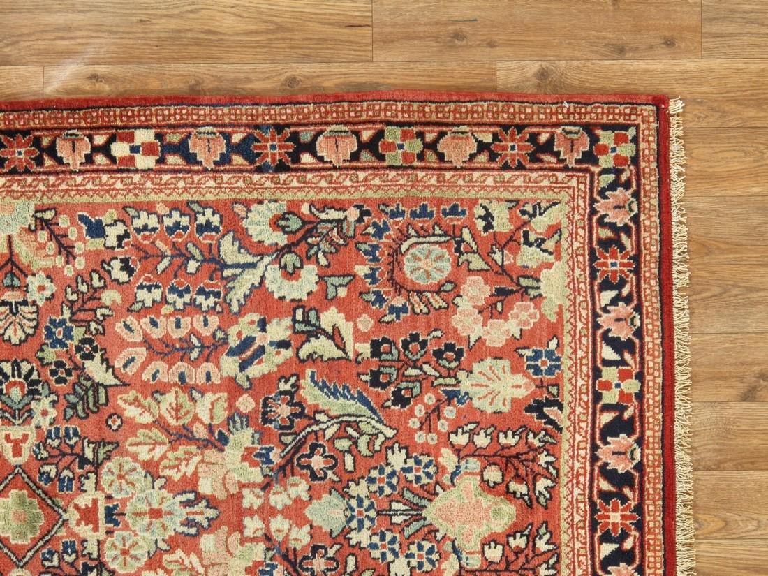 Antique Persian Sarouk Rug 3.5x5.5 - 6
