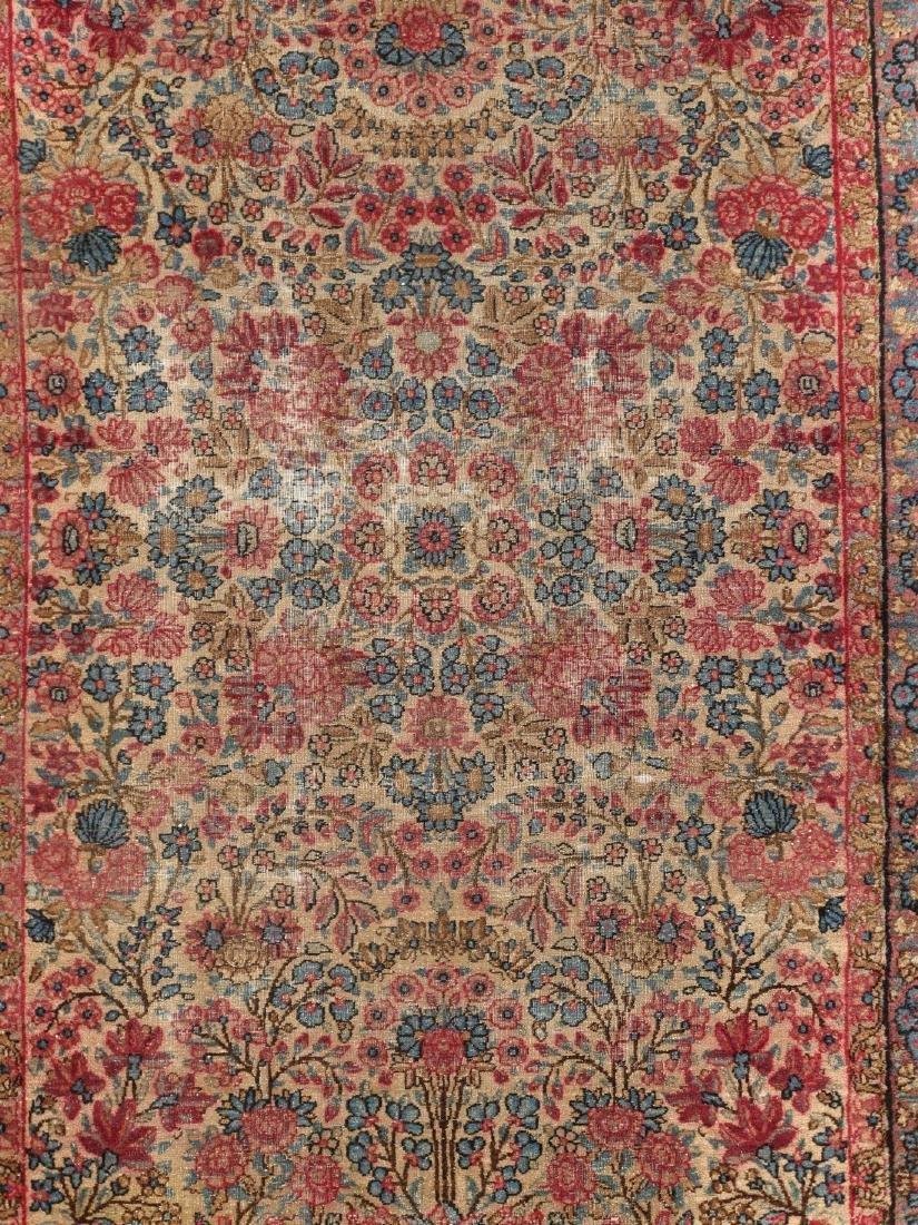 Antique Persian Kerman Lavar Rug 3.9x5.9 - 2