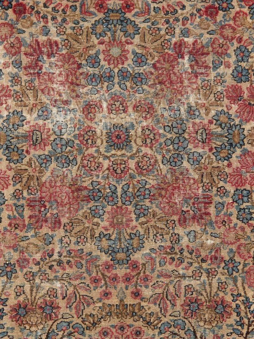 Antique Persian Kerman Lavar Rug 3.9x5.9 - 3