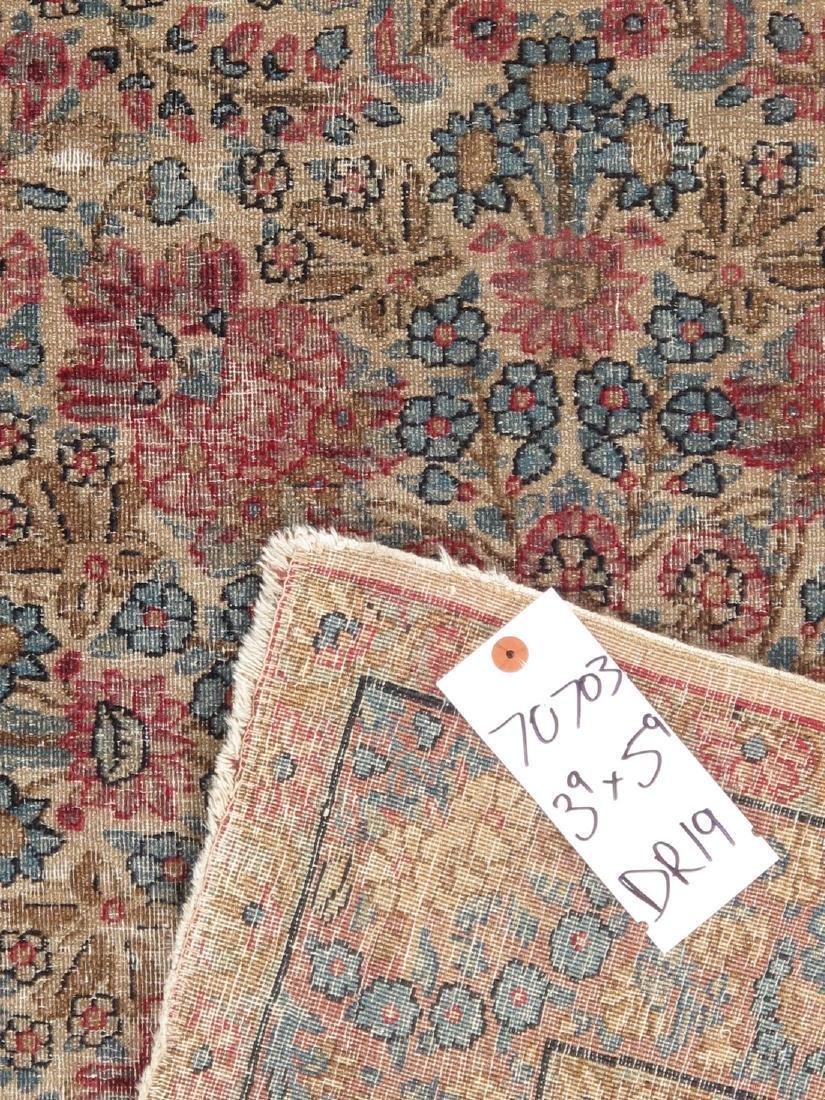 Antique Persian Kerman Lavar Rug 3.9x5.9 - 4