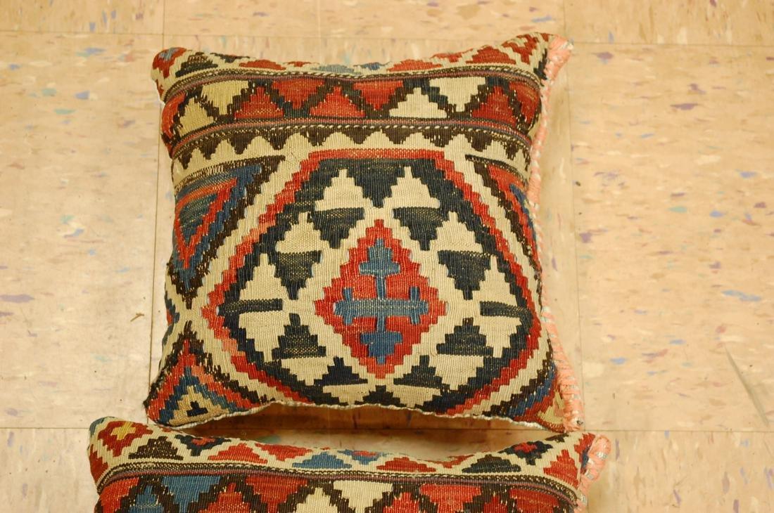 2 Fine Caucasian Kilim Pillow 1.2x1.5 - 3