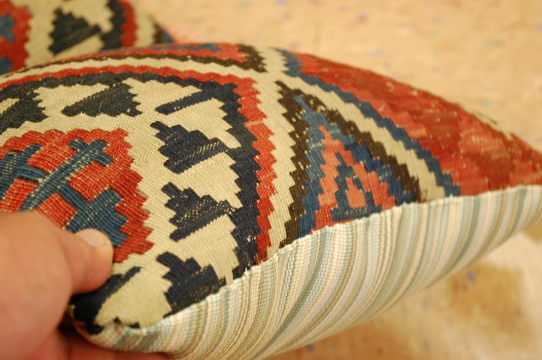 2 Fine Caucasian Kilim Pillow 1.2x1.5 - 4