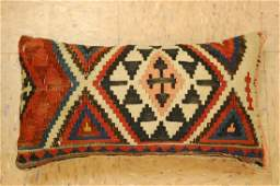 Highly Detailed Fine Caucasian Kilim Pillow 1.5x1.7