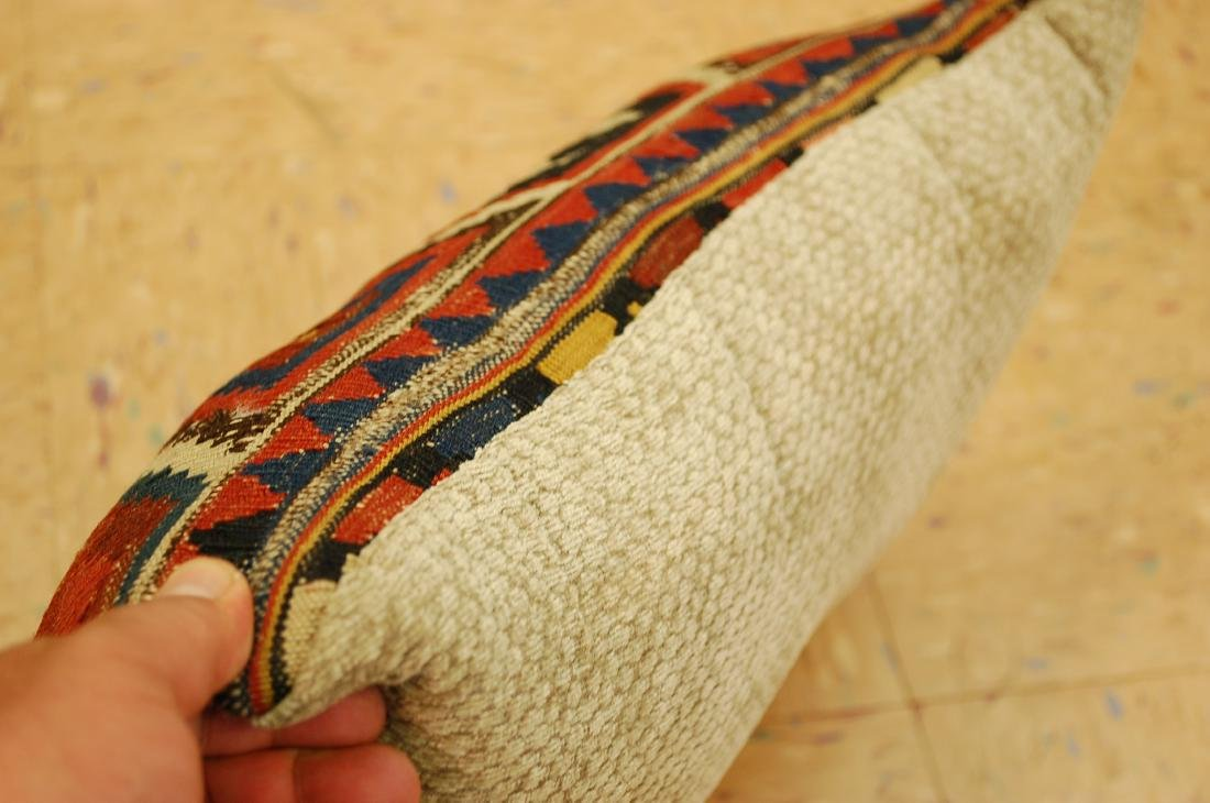 Highly Detailed Fine Caucasian Kilim Pillow 1.5x1.7 - 3