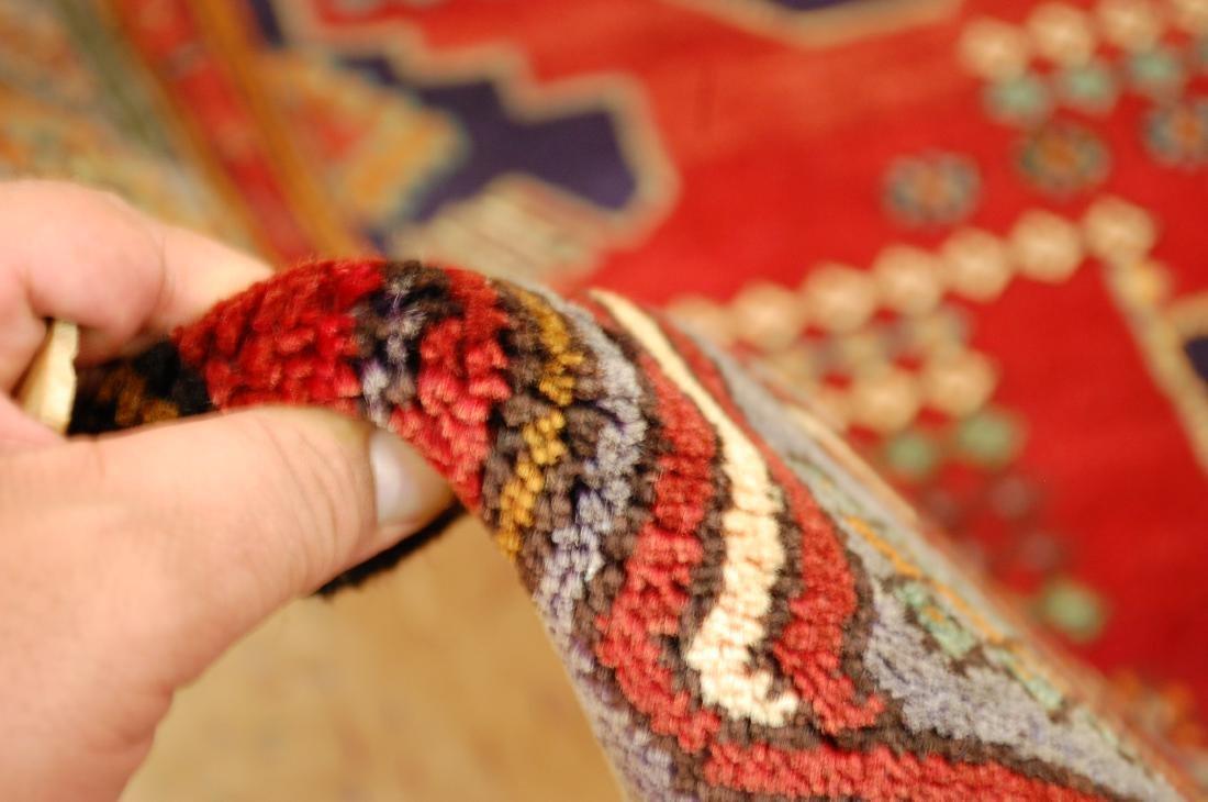 Antique Detailed Design Persian Sanneh Rug 4.6x7.6 - 10