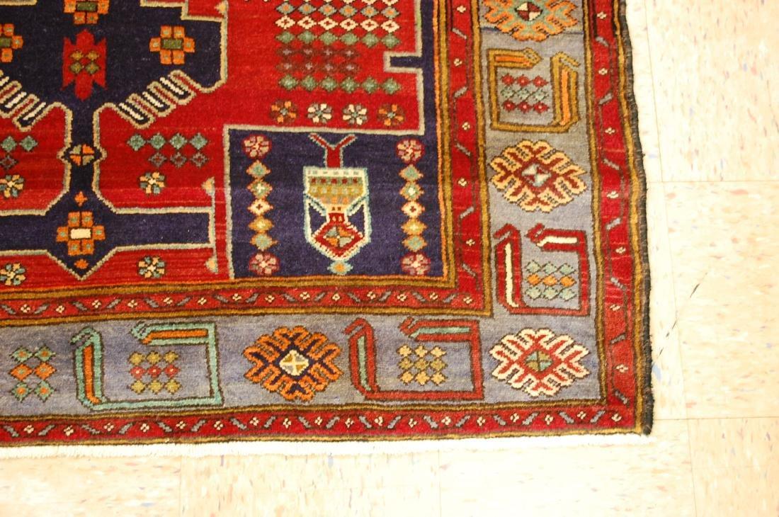 Antique Detailed Design Persian Sanneh Rug 4.6x7.6 - 2