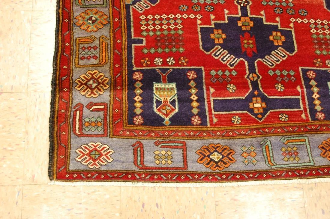 Antique Detailed Design Persian Sanneh Rug 4.6x7.6 - 3