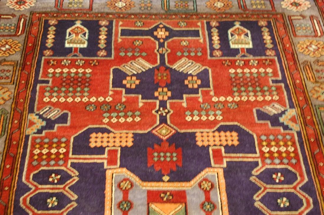 Antique Detailed Design Persian Sanneh Rug 4.6x7.6 - 6