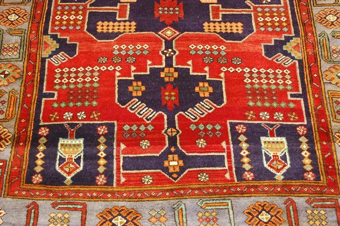 Antique Detailed Design Persian Sanneh Rug 4.6x7.6 - 8