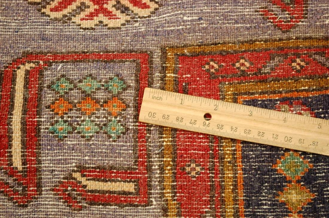 Antique Detailed Design Persian Sanneh Rug 4.6x7.6 - 9
