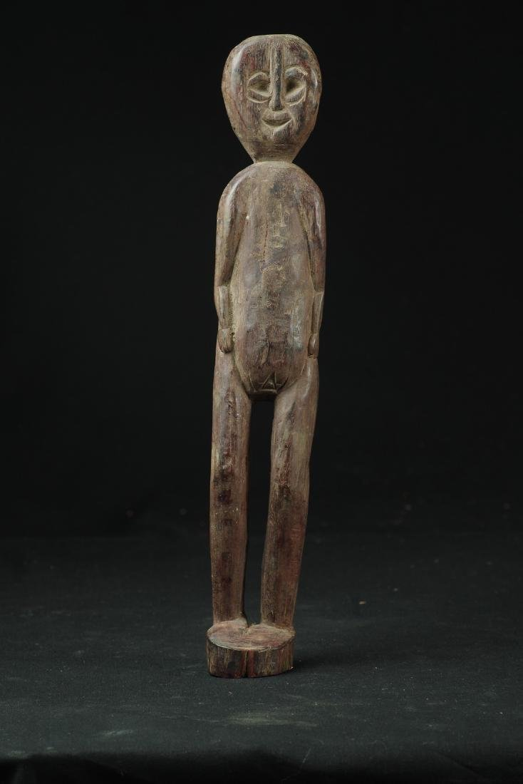 Long and Thin Figure of Female Ancestor