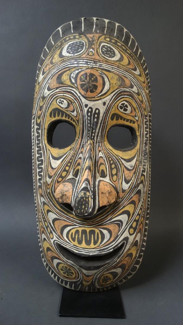 Large Ancestor Wall Mask Sepik - 2