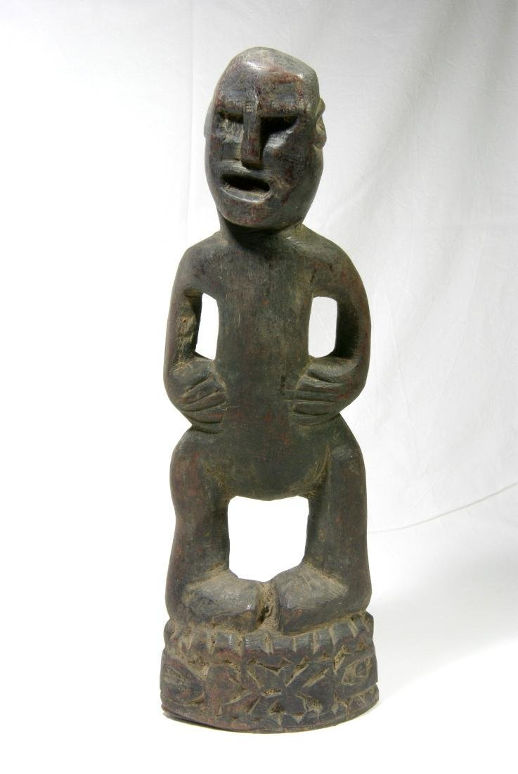 Massive Ancestor Figure With Angry Expression