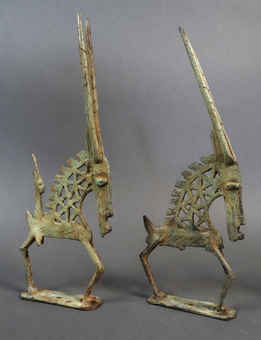 Couple Tjiwara in Bronze Dogon - 2