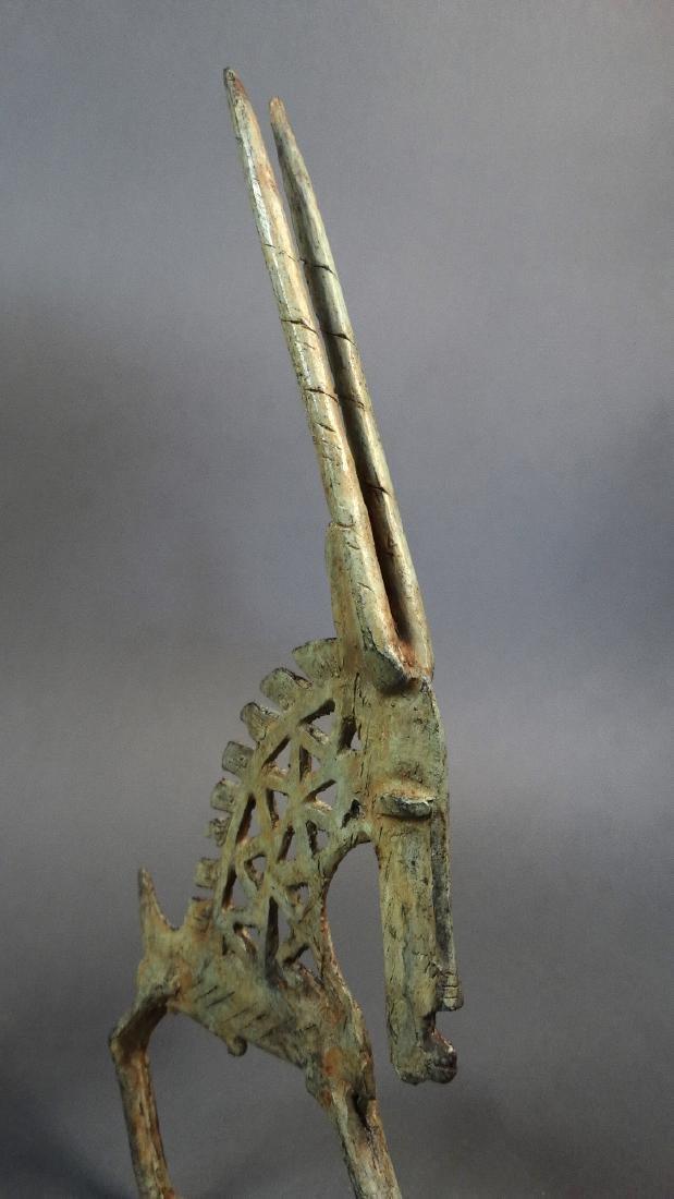 Couple Tjiwara in Bronze Dogon - 6